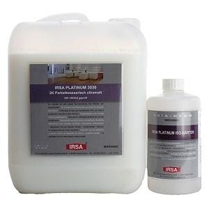 Irsa Platinum 3030 2к полиуретановый лак 4,5л + отвердитель 0,225л ультраматовый