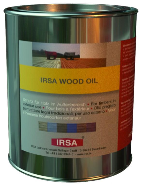 Irsa Wood Oil 2.5кг бесцветное масло