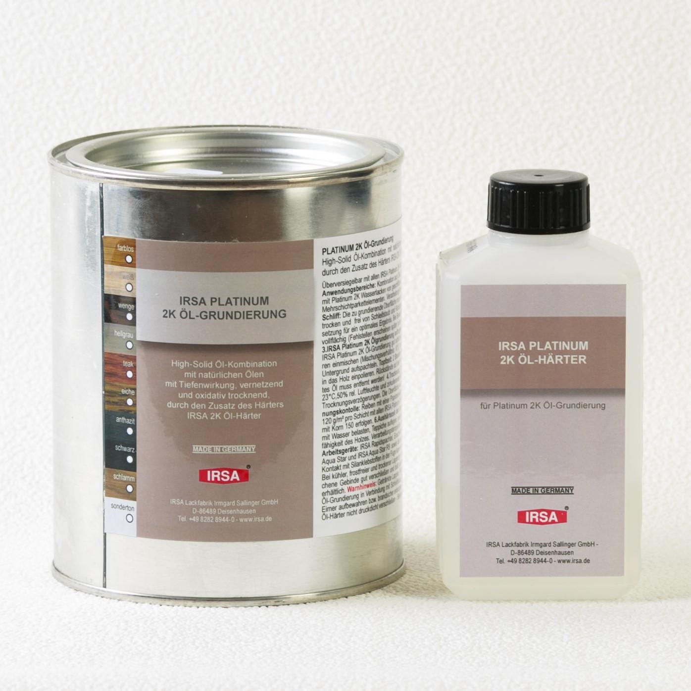 IRSA Platinum 2K Öl-Grundierung двухкомпонентная грунтовка на основе масла
