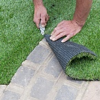 Укладка искусственной травы